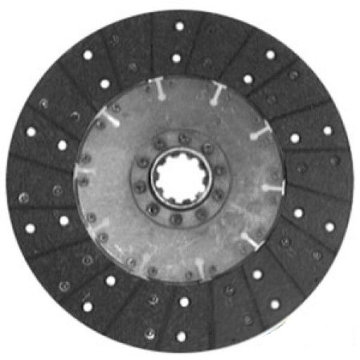 Transmission disc for Ford 1910, 2110 Compact tractors w/double clutch Replaces SBA320400441