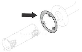 Hydraulic Filter Gasket for HS-4891